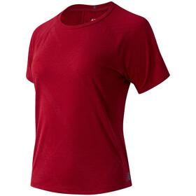 New Balance Q Speed Fuel Jacquard Chemise manches courtes Femme, rouge